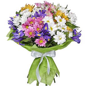 Доставка цветов курьером дешево в Новокузнецке